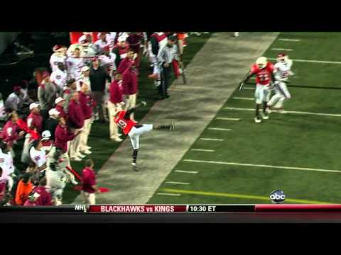 Amazing College Interception: Oklahoma State vs. Oklahoma