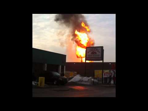 Minneapolis Gas Main Explosion