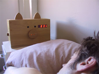 Wake N Bacon Alarm Clock