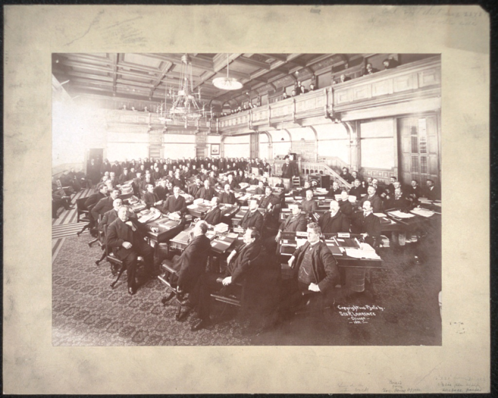 George R. Lawrence Photo: Minnesota Senate 1901