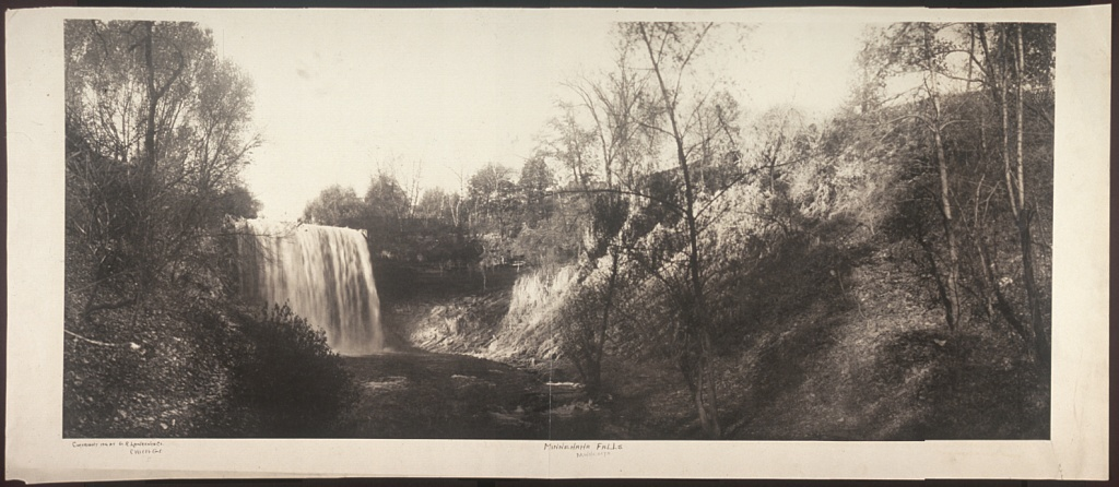 George R. Lawrence Photo: Minnehaha Falls, Minneapolis, Minnesota 1906