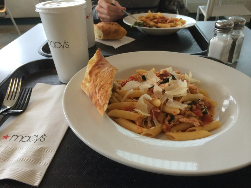 Photo of Macy's Sky Room Noodles Entree