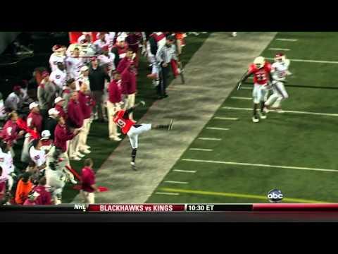 Amazing College Interception: Oklahoma State vs. Oklahoma