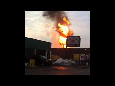 Minneapolis Gas Main Explosion