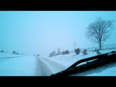 Minnesota Blizzard – Cars Spun Out